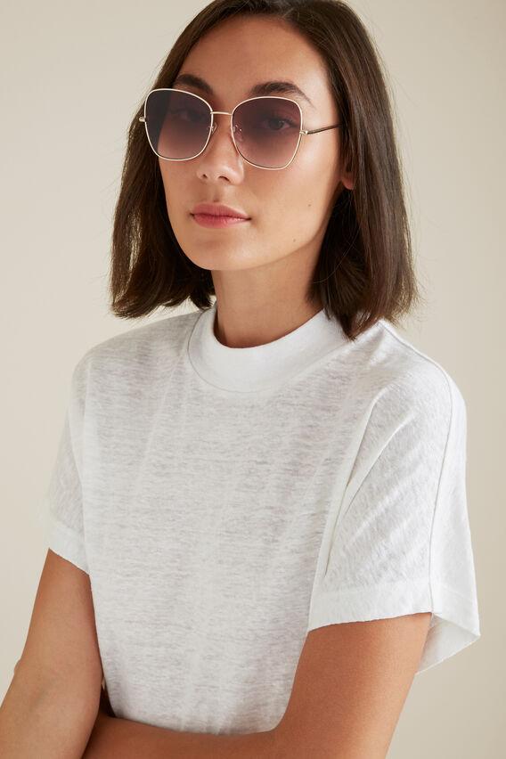 Imogen Metal Sunglasses  GOLD  hi-res