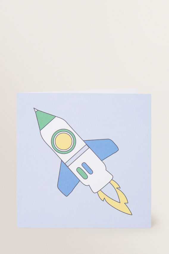 Large Rocket Card  MULTI  hi-res