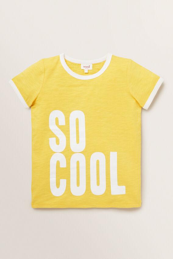 So Cool Tee  SUNNY YELLOW  hi-res
