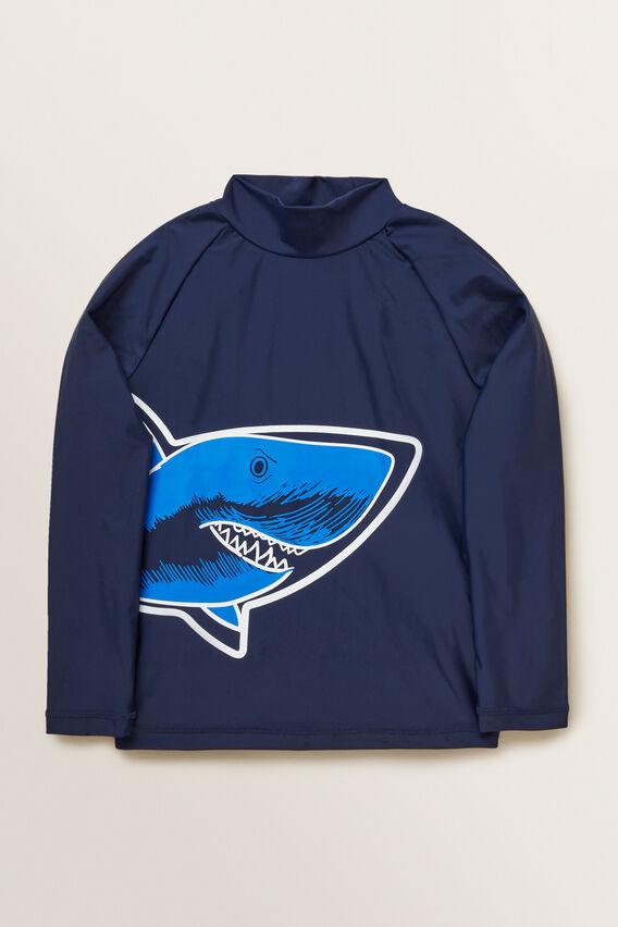 Shark Rashvest  MIDNIGHT BLUE  hi-res
