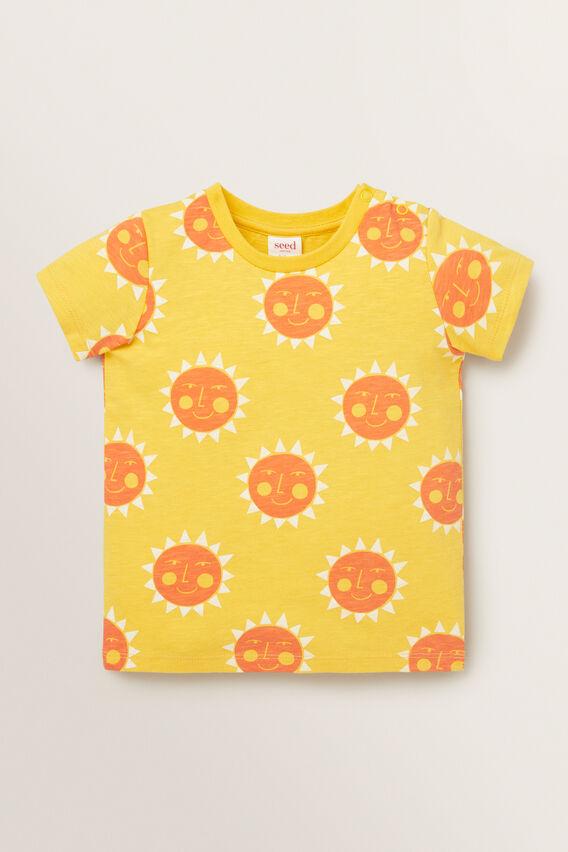 Sun Tee  SUNNY YELLOW  hi-res