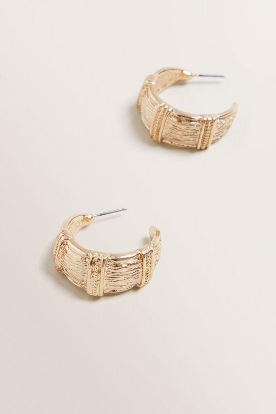Detail Earrings  GOLD  hi-res