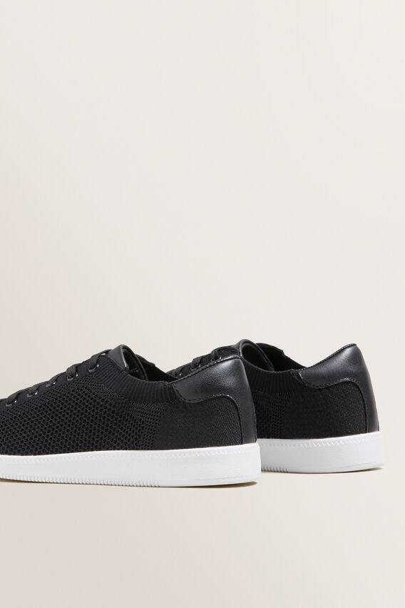 Sarah Knit Sneaker  BLACK SPARKLE  hi-res