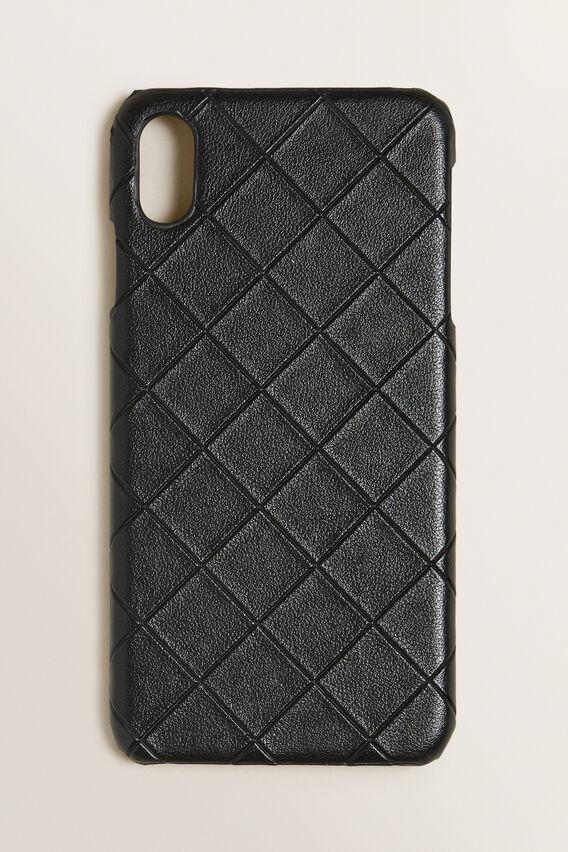 iPhone Case XS Max  BLACK TEXTURED  hi-res