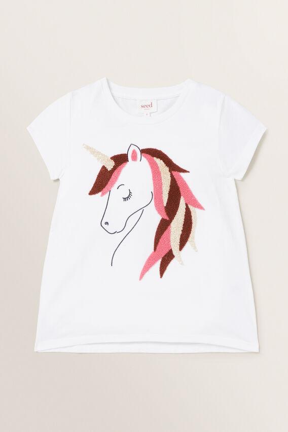 Unicorn Tee  WHITE  hi-res