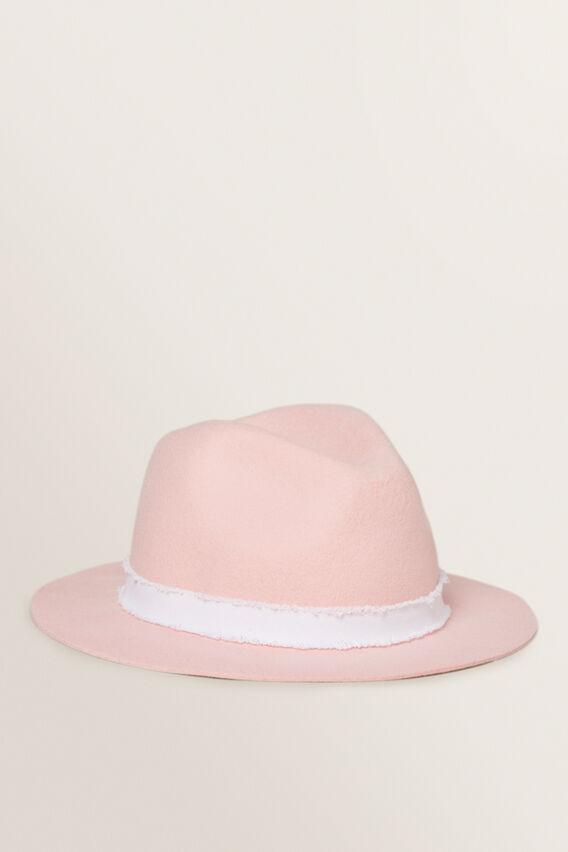 Wool Felt Hat  DUSTY ROSE  hi-res