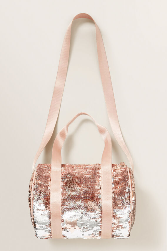 Sequin Star Mini Duffle Bag  MULTI  hi-res