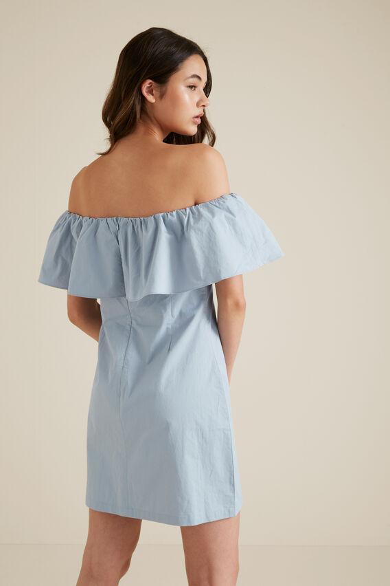 Poplin Dress  ARCTIC BLUE  hi-res
