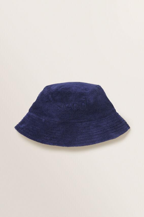 Terry Bucket Hat  MIDNIGHT BLUE  hi-res