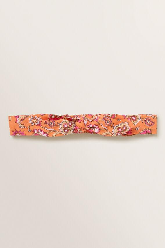 Metallic Floral Headband  MULTI  hi-res