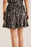 Ocelot Godet Skirt  LARGE OCELOT  hi-res