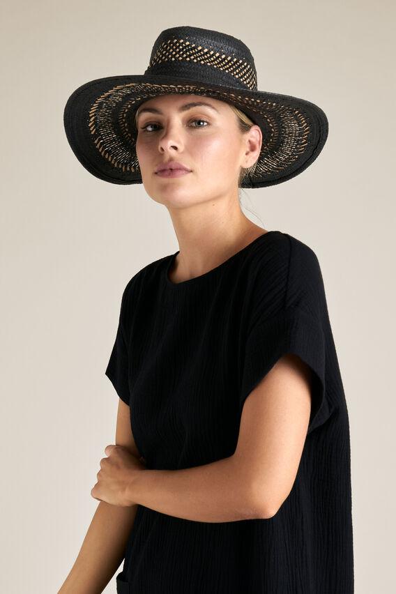 Anna Fedora  BLACK  hi-res