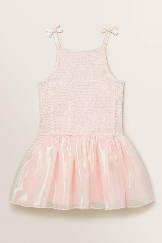 Shimmer Tutu Dress  DUSTY ROSE  hi-res