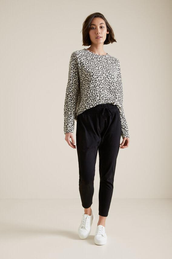 Jacquard Sweater  OCELOT  hi-res