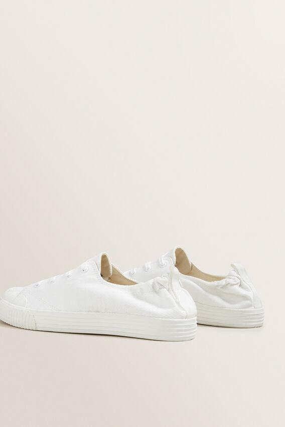Sienna Canvas Slip-On Sneaker  WHITE  hi-res