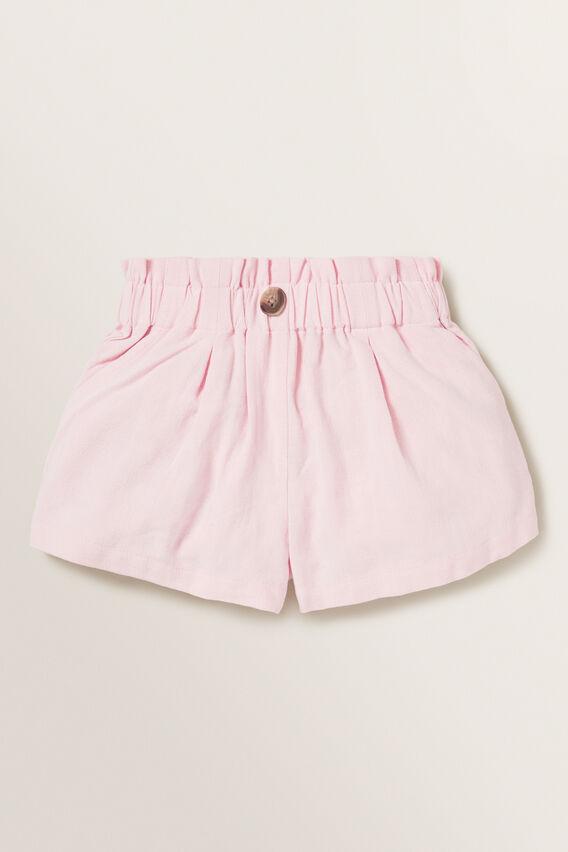 Linen Shorts  DUSTY ROSE  hi-res