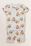 Christmas Lion Pyjama  CLOUDY MARLE  hi-res