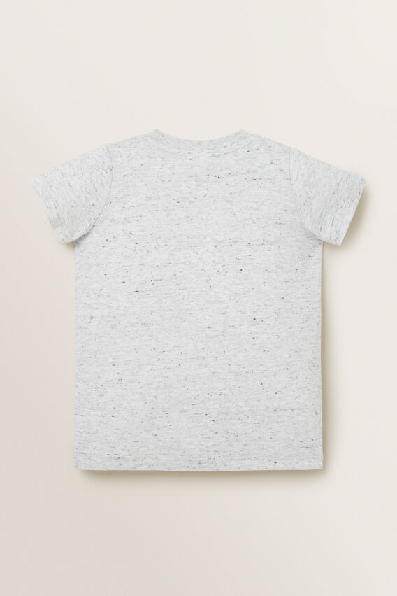 Parrot Chenille Tee  CLOUDY MARLE  hi-res