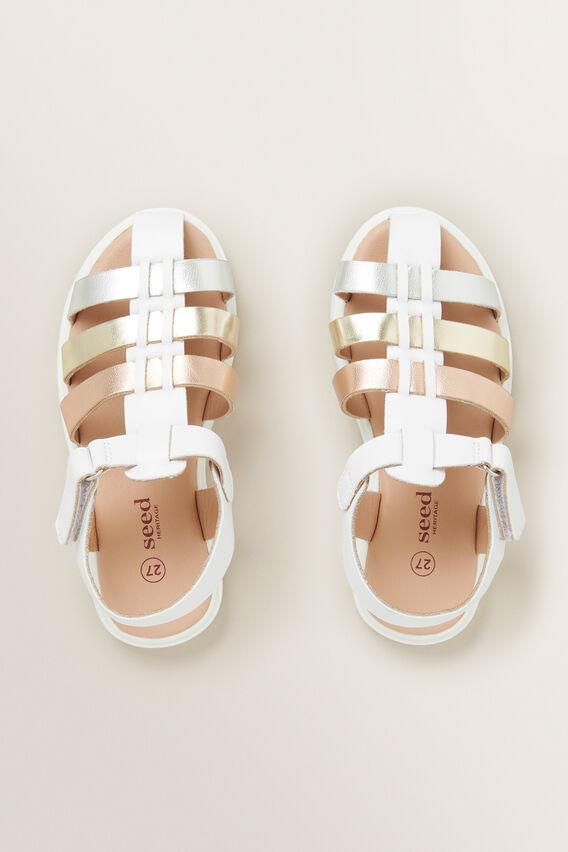 Strap Sandal  METALLIC  hi-res