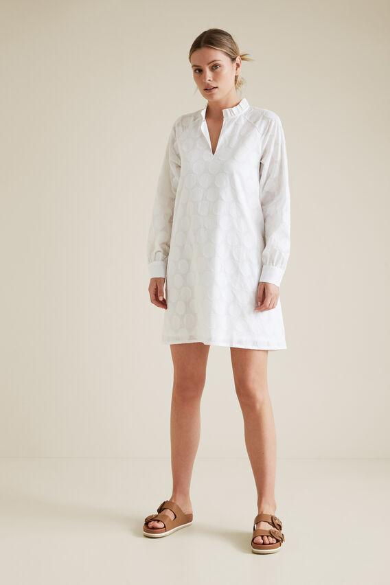 Burnout Dress  WHISPER WHITE  hi-res
