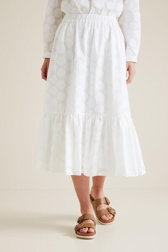 Burnout Skirt  WHISPER WHITE  hi-res