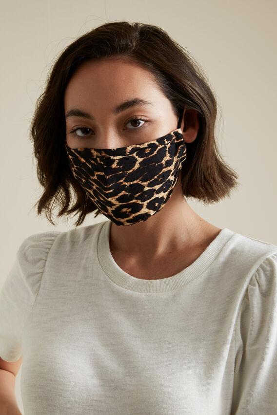 Adjustable Cotton Face Mask  OCELOT  hi-res