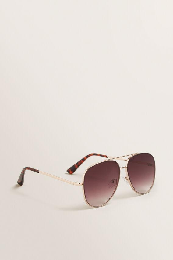 Ellie Aviator Sunglasses  GOLD  hi-res