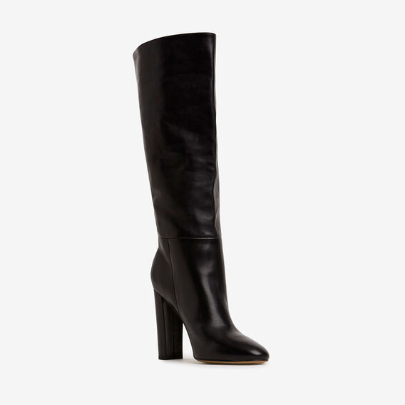 Ivy Heel Boot  BLACK  hi-res