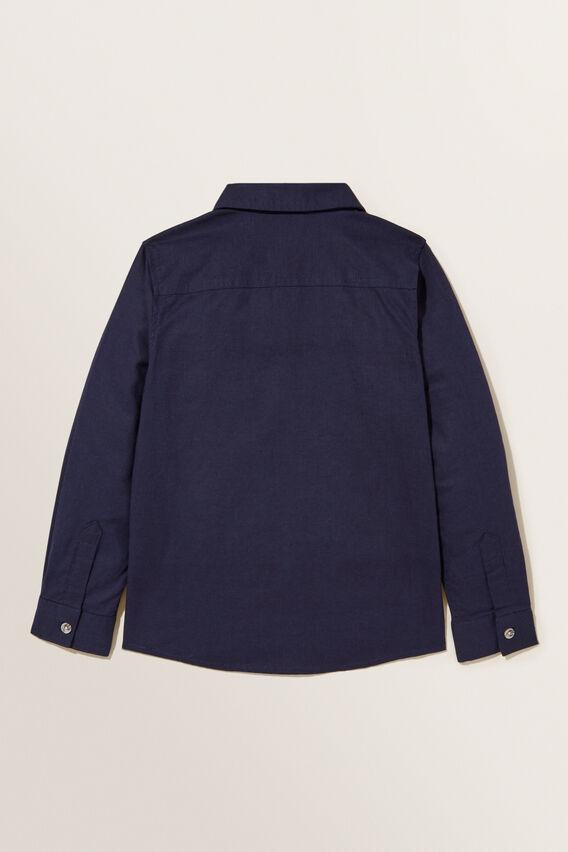 Linen Shirt  MIDNIGHT BLUE  hi-res