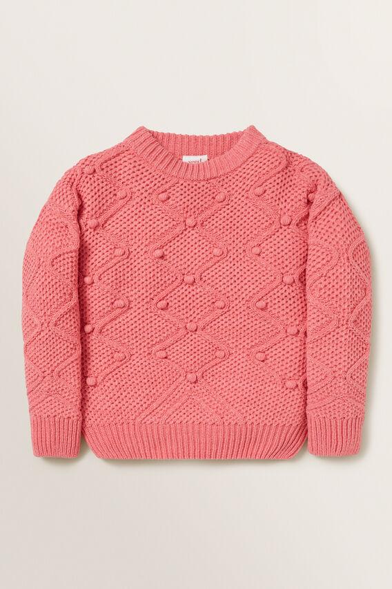 Bobble Sweater  PEONY PINK  hi-res