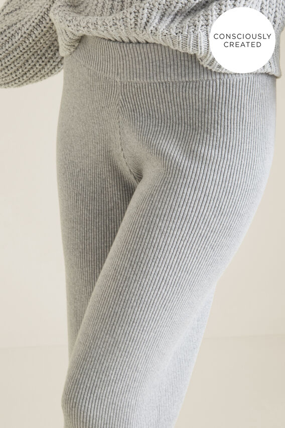 Sustainable Lounge Pant  FOAM GREY MARLE  hi-res