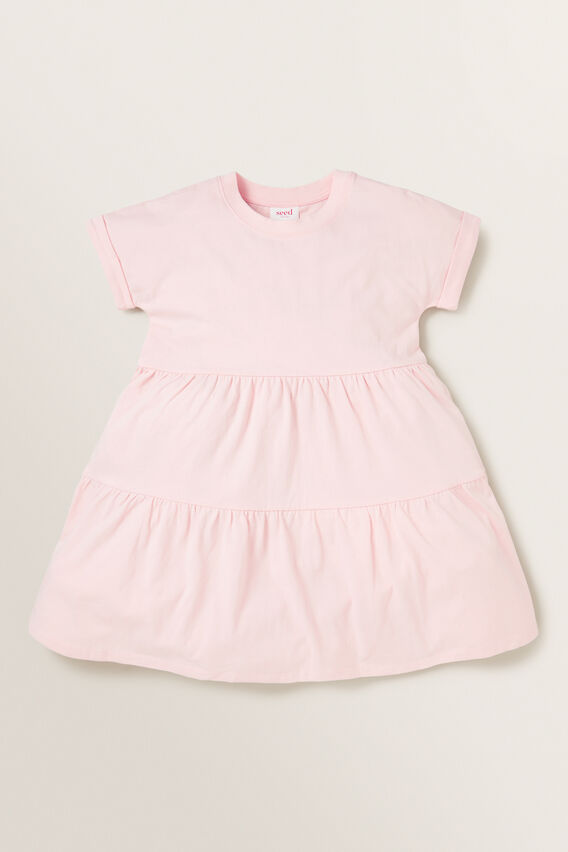 Tiered Dress  DUSTY ROSE  hi-res