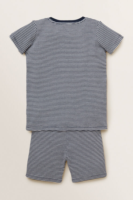 Waffle Pyjama  MIDNIGHT BLUE  hi-res