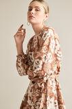 Godet Pleat Dress  VINTAGE FLORAL  hi-res