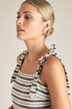 Spliced Stripe Maxi Dress  STRIPE  hi-res