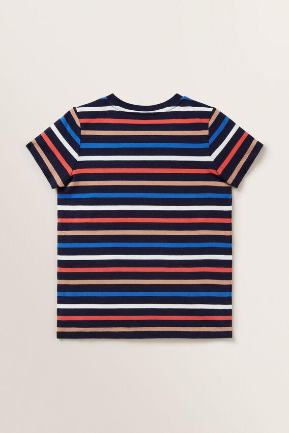 Stripe Tee  MIDNIGHT BLUE  hi-res
