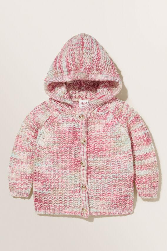 Space Dye Knit Cardigan  MULTI  hi-res
