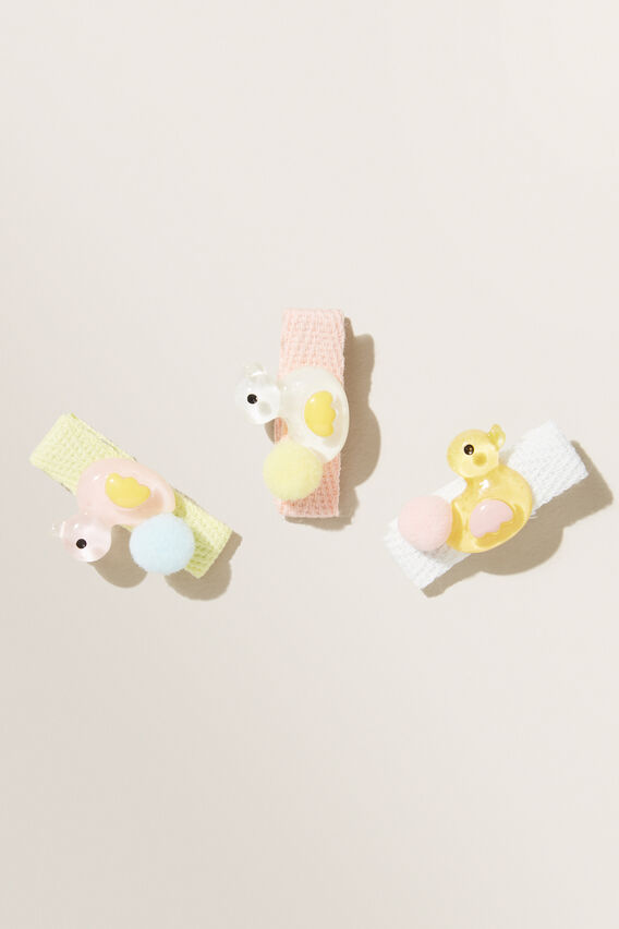 Ducky Clips 3 Pack  MULTI  hi-res