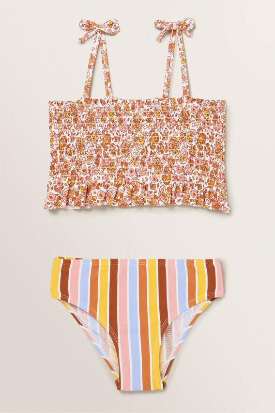 Stripe Paisley Bikini  MULTI  hi-res