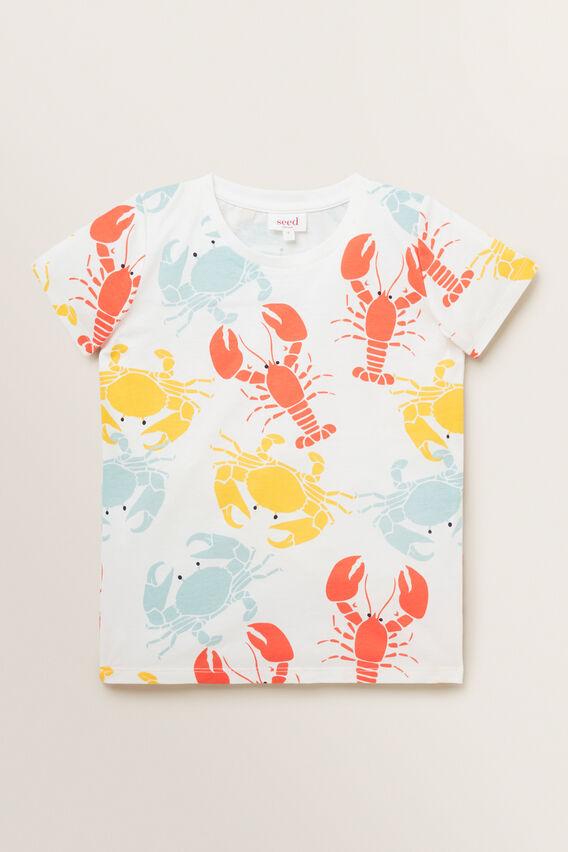 Lobster Tee  VINTAGE WHITE  hi-res