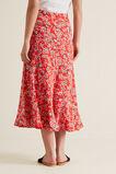Printed Swing Skirt  POPPY FLORAL  hi-res