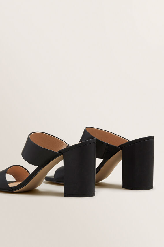 Kim Double Strap Mule  BLACK  hi-res