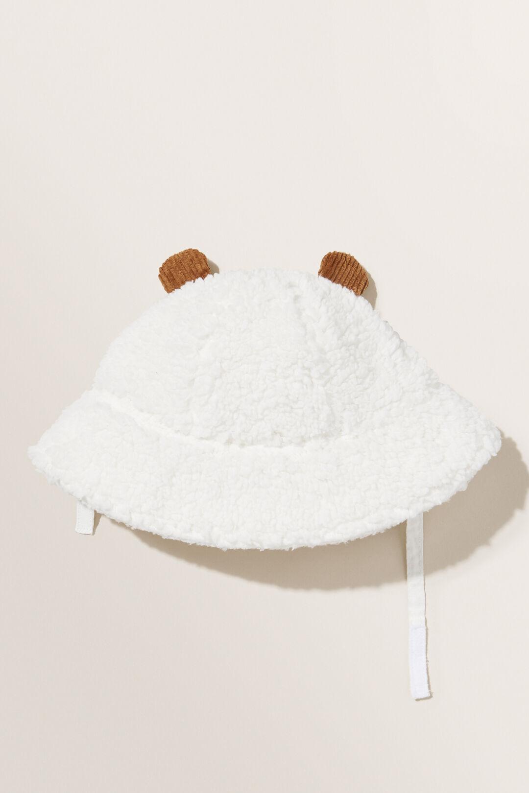 Teddy Corduroy Bucket Hat  NATURAL  hi-res