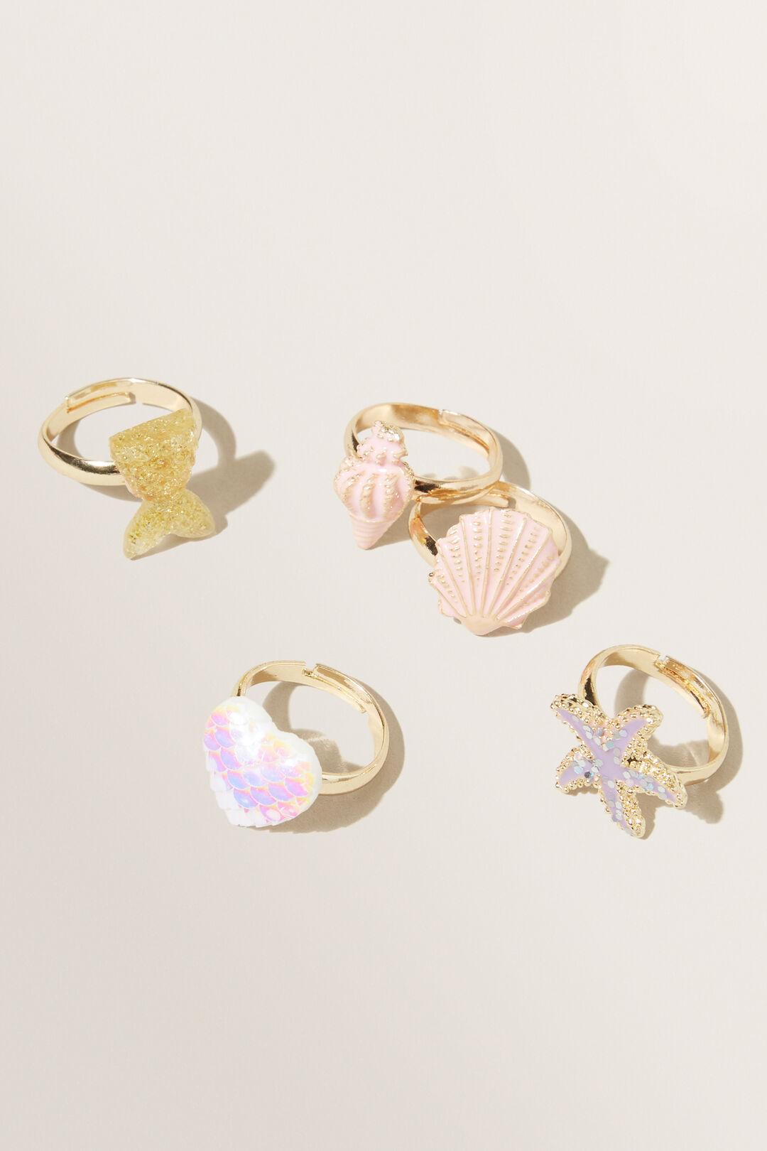 Mermaid Ring Box  MULTI  hi-res