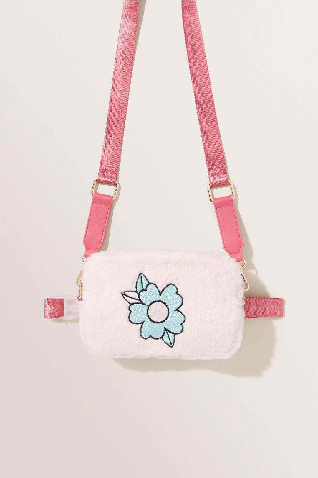 Faux Fur Convertible Bag  MULTI  hi-res
