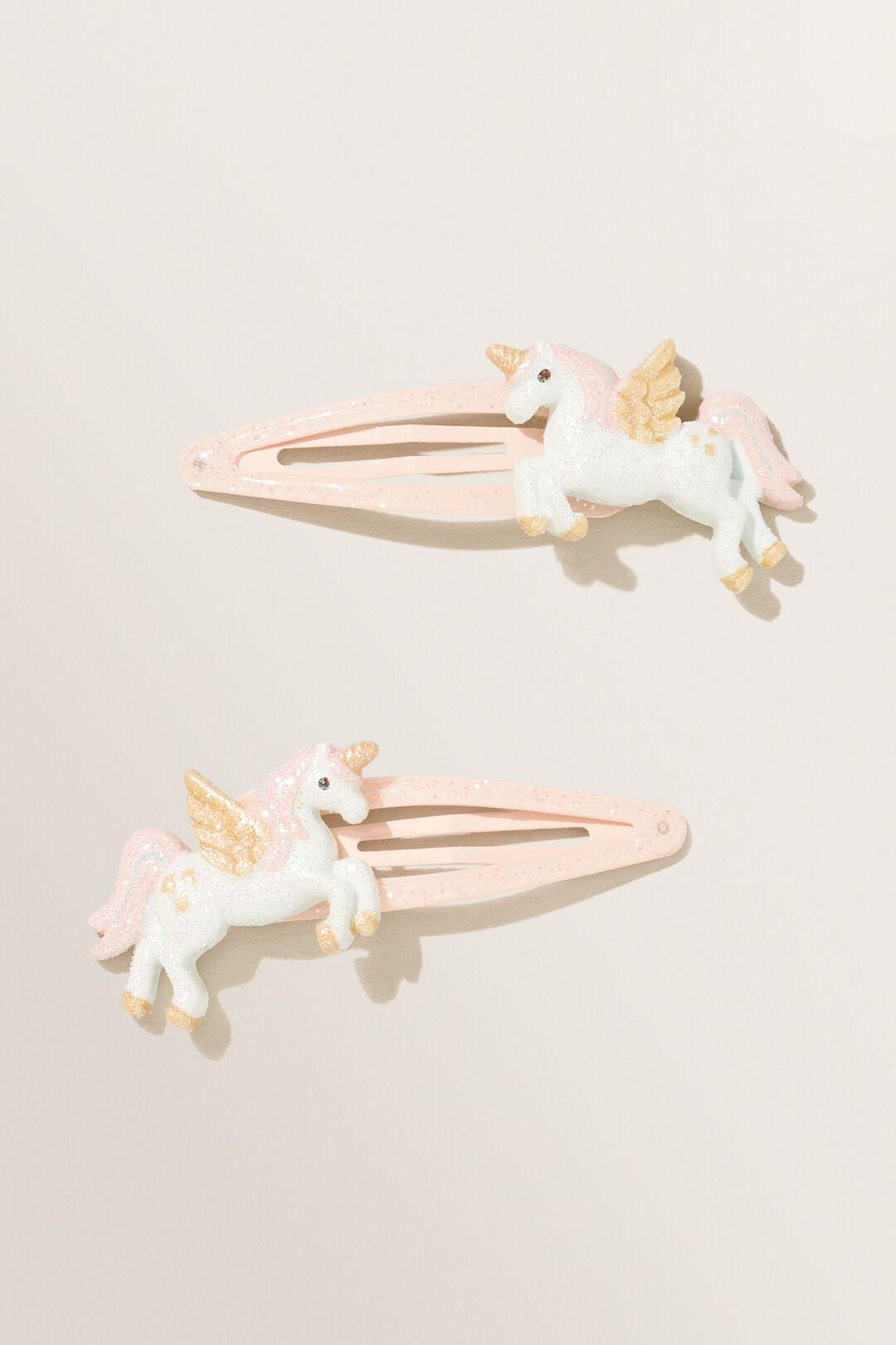 Unicorn Snap Clips  MULTI  hi-res