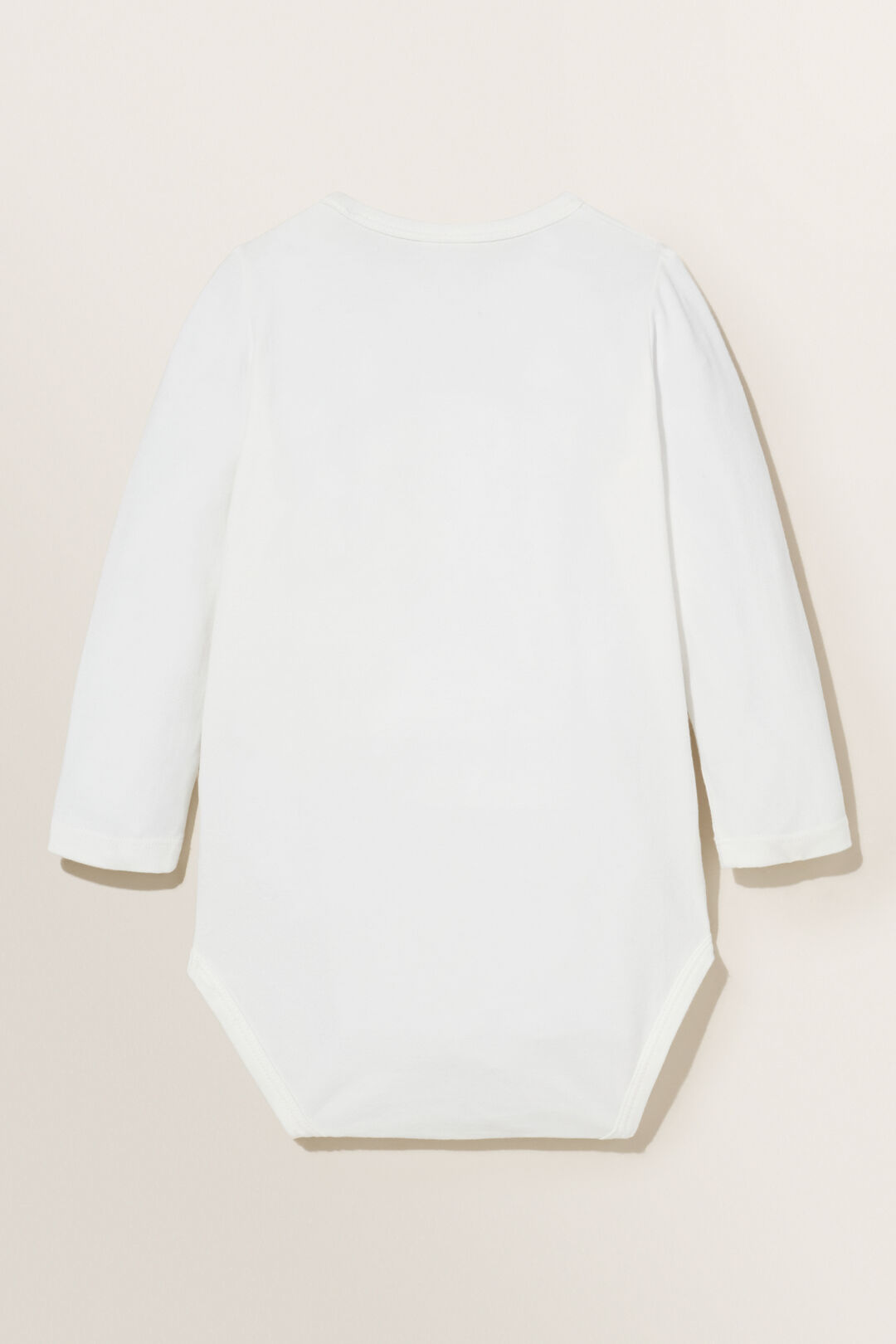 Chenille Bear Bodysuit  CANVAS  hi-res