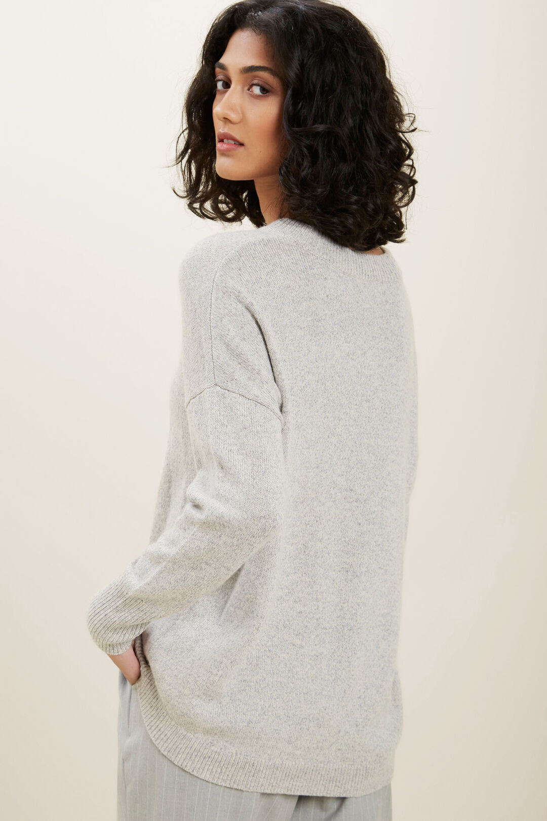 Easy  Marle  Sweater  STORMY GREY TWIST  hi-res