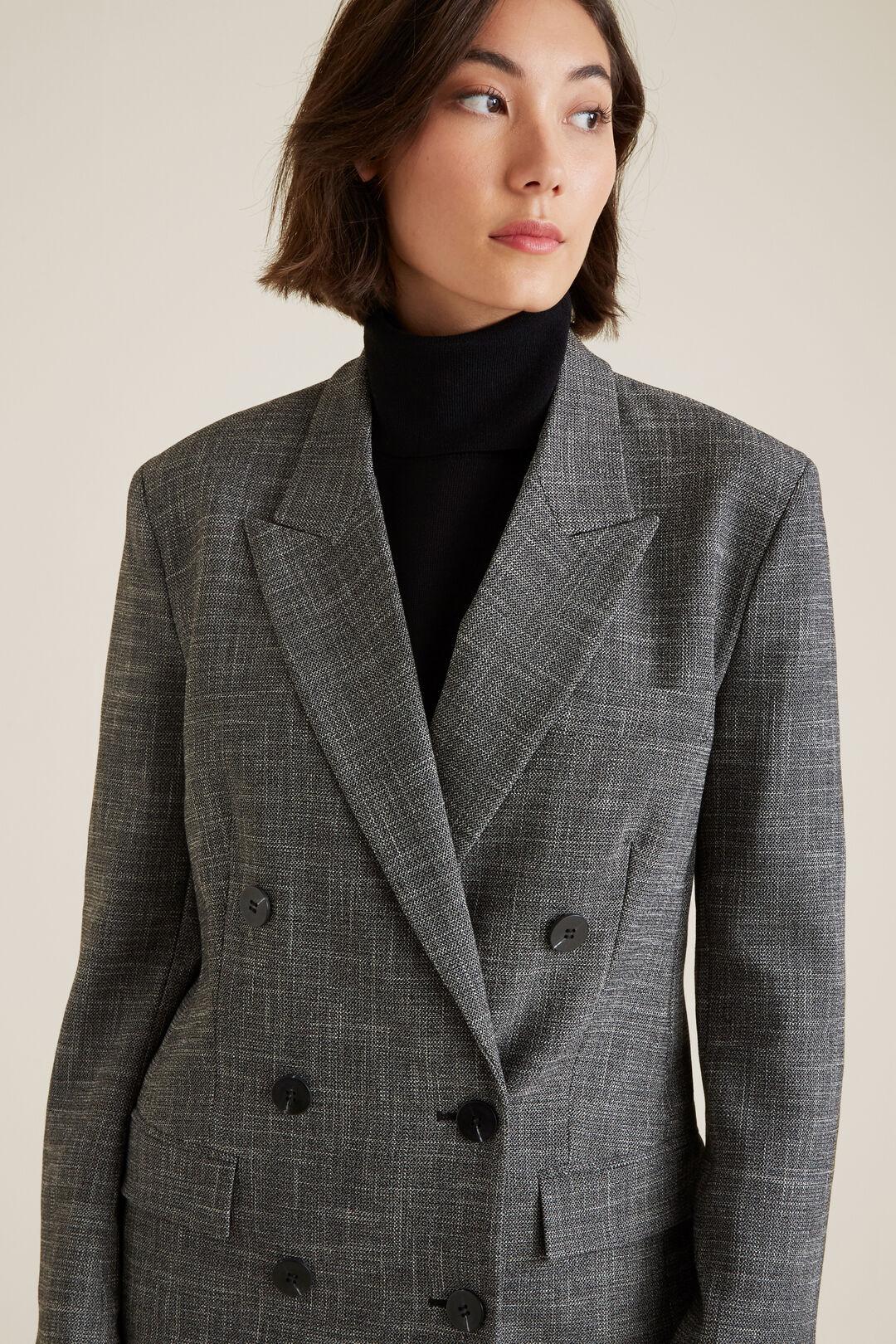Textured Blazer  MULTI  hi-res