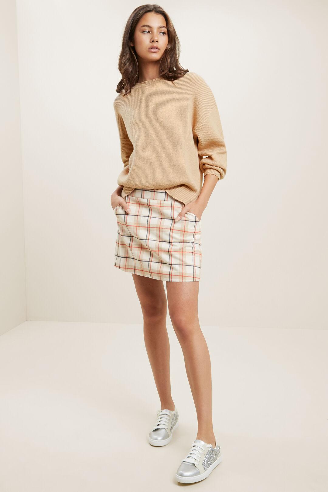 Check Skirt  MULTI  hi-res